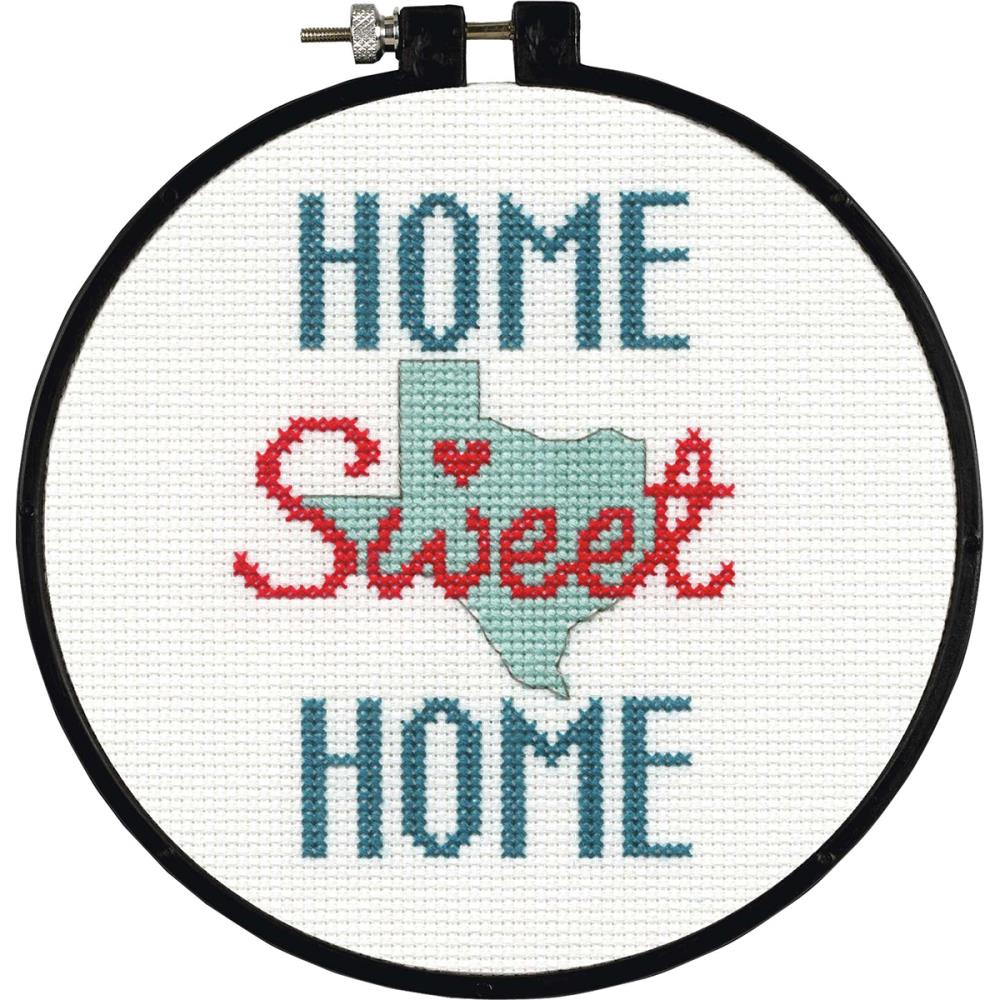 State Love - Learn A Craft - click here for more details about counted cross stitch kit