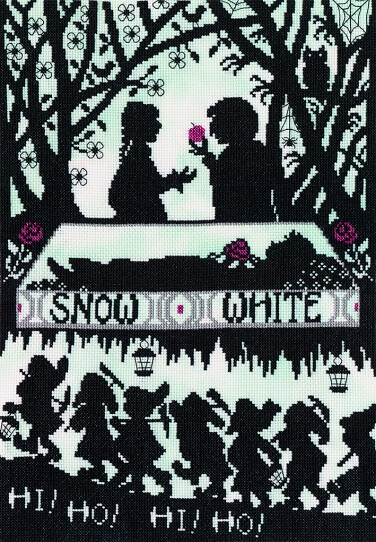 Snow White - click here for more details about counted cross stitch kit