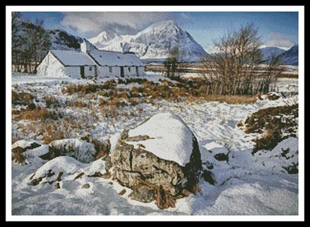 click here to view larger image of Black Rock Cottage In Winter (chart)