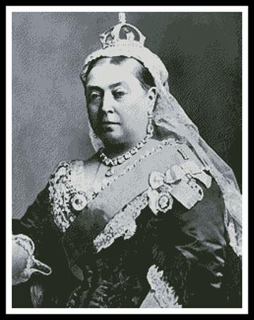 click here to view larger image of Queen Victoria (chart)