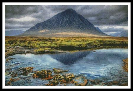 click here to view larger image of Buachaille Etive Mor Glencoe (chart)