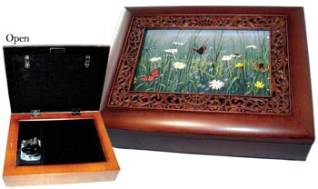 click here to view larger image of Butterfly Garden Music Box (accessory)