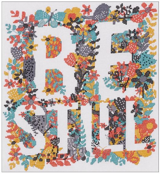 click here to view larger image of Be Still (counted cross stitch kit)
