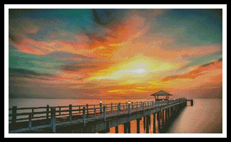 click here to view larger image of Sunset Dreams (chart)
