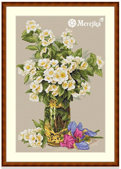 click here to view larger image of Sweet Scented Bouquet (counted cross stitch kit)