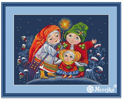 click here to view larger image of Christmas Star (counted cross stitch kit)