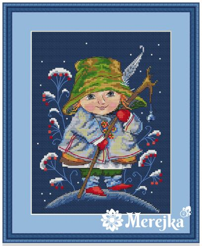 click here to view larger image of Christmas Bell (counted cross stitch kit)