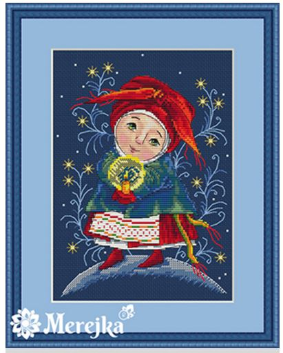 click here to view larger image of Christmas Light (counted cross stitch kit)
