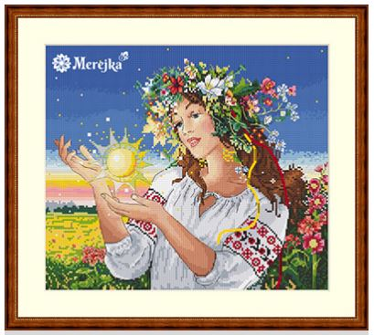 click here to view larger image of Dawn (counted cross stitch kit)