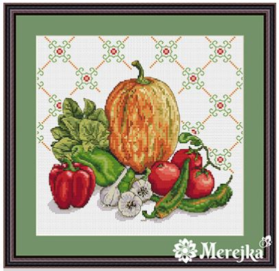 click here to view larger image of Still Life D'Orange (counted cross stitch kit)