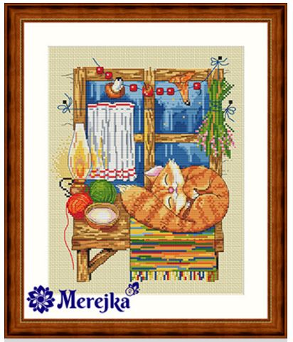 click here to view larger image of Cat, The (counted cross stitch kit)
