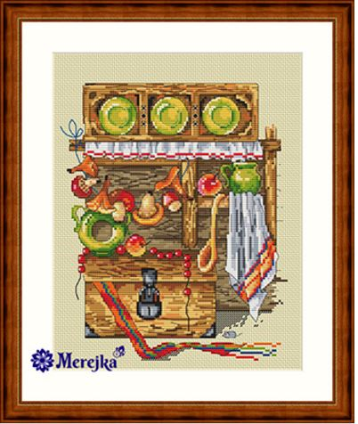 click here to view larger image of Chest, The (counted cross stitch kit)