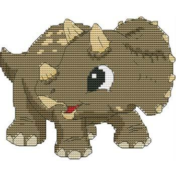 click here to view larger image of Baby Triceratops 01 (chart)