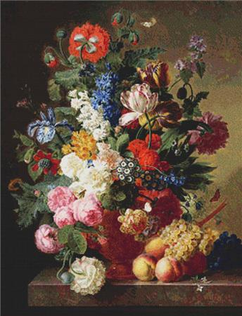 click here to view larger image of Peonies  (Jan Frans van Dael) (chart)