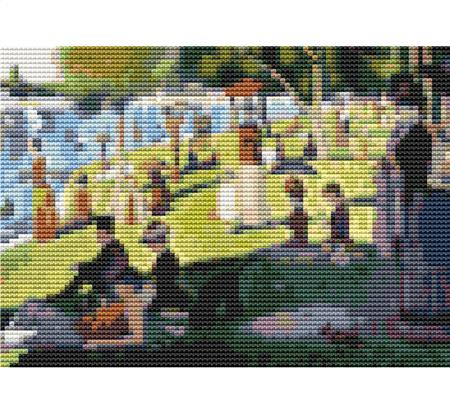 click here to view larger image of A Sunday Afternoon On The Island Of La Grande Jatte - Mini Chart (chart)