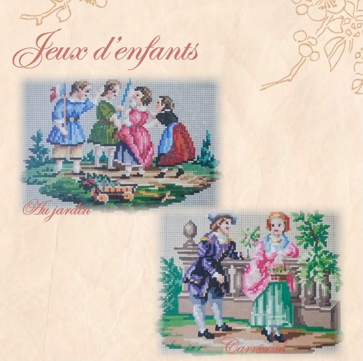 click here to view larger image of Jeux D'Enfants (chart)