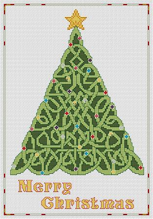click here to view larger image of Celtic Merry Christmas (chart)