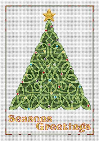 click here to view larger image of Celtic Seasons Greetings (chart)
