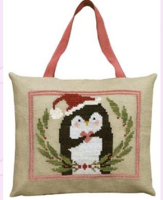 click here to view larger image of Pinny Penguins Heart of Christmas (chart)