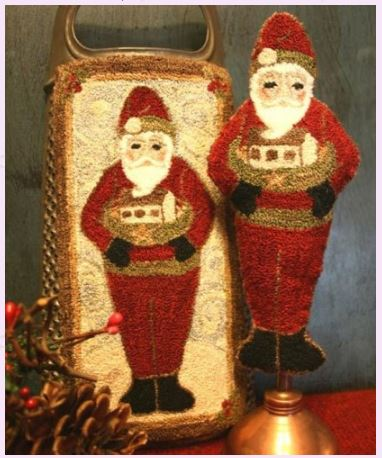 click here to view larger image of Old World Santa (Punchneedle) (Punchneedle)