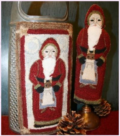 click here to view larger image of Father Christmas (Punchneedle) (Punchneedle)