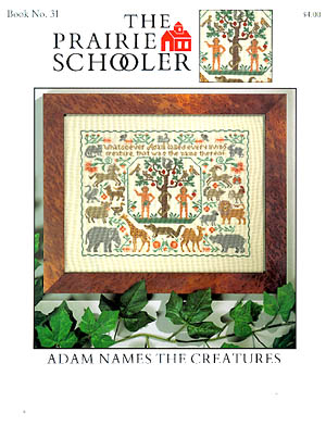 click here to view larger image of Adam Names The Creatures (chart)
