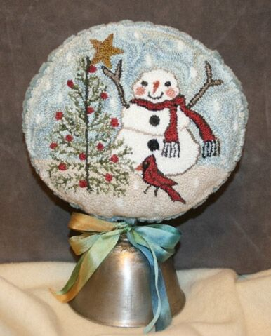 click here to view larger image of Topping The Tree (Punchneedle) (Punchneedle)