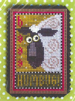 click here to view larger image of Baaa Humbug Kit (counted cross stitch kit)