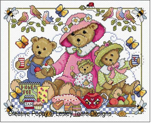 click here to view larger image of Teddy Bears Picnic (chart)