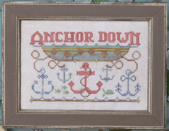 click here to view larger image of Anchor Down - To The Beach 7 (chart)