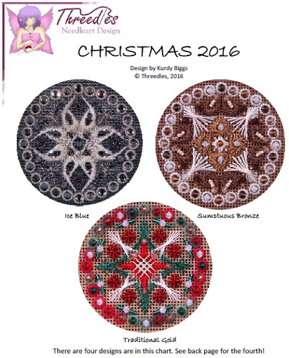 click here to view larger image of Christmas 2016 (counted canvas chart)