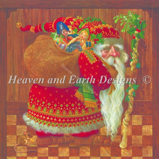 click here to view larger image of Old World Santa - No Background (charm)