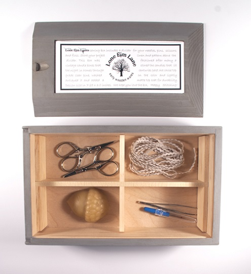 click here to view larger image of Candle Box (accessory)