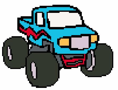 click here to view larger image of Monster Truck (chart)