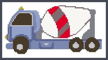 click here to view larger image of Cement Truck (chart)