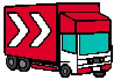 click here to view larger image of Red Truck (chart)