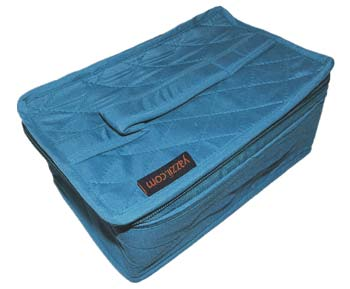 click here to view larger image of 4 Pocket Organizer - Aqua Teal (accessory)