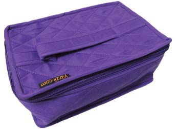 click here to view larger image of 4 Pocket Organizer - Purple (accessory)