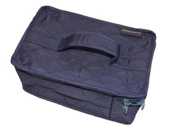 click here to view larger image of 4 Pocket Organizer - Navy Blue (accessory)