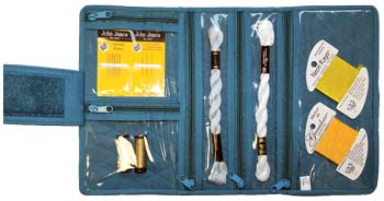 click here to view larger image of Compact Craft Organizer - Aqua Teal (accessory)