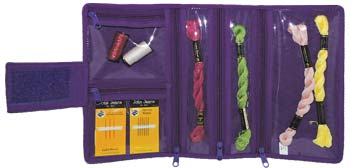 click here to view larger image of Compact Craft Organizer - Purple (accessory)