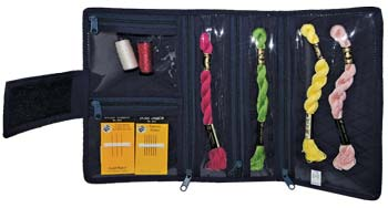 click here to view larger image of Compact Craft Organizer - Navy Blue (accessory)