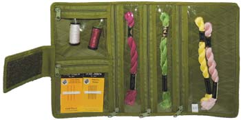 click here to view larger image of Compact Craft Organizer - Green (accessory)