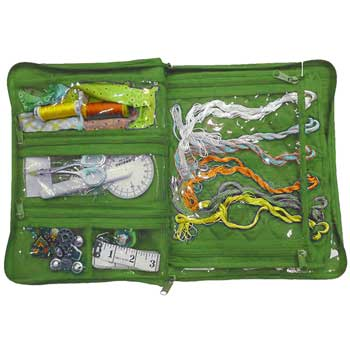 click here to view larger image of Embroidery Thread Organizer - Lime Green (accessory)