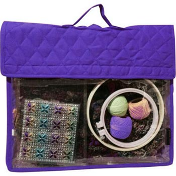 click here to view larger image of Craft Project Folder - Purple (accessory)