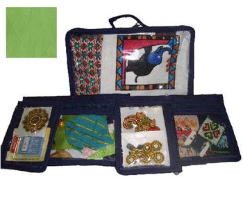 click here to view larger image of Craft Storage Box - Lime Green (accessory)
