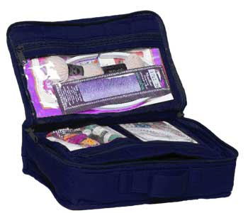 click here to view larger image of Mini Craft Organizer Large - Navy Blue (accessory)