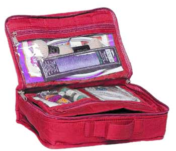 click here to view larger image of Mini Craft Organizer Large - Fuchsia Pink (accessory)