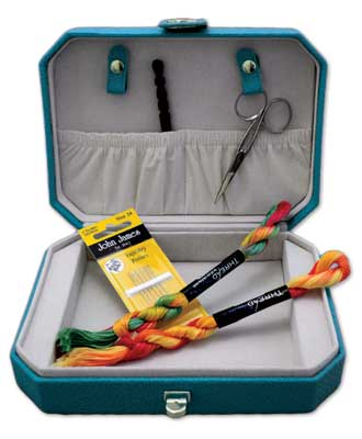 click here to view larger image of Designer Tool Caddy - Aqua (accessory)