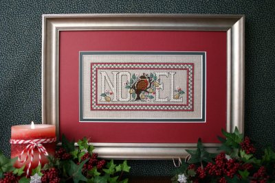 click here to view larger image of Noel Partridge (counted cross stitch kit)